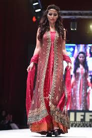 bridal collection uzma babar bridal collection at international fashion festival doha