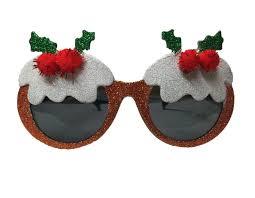 christmas glasses christmas novelty glasses party santa glasses pudding