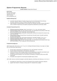 Good Programmer Resume Programmer Job Description What Are Web Programmers What Are Web