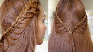Easy Country Hairstyles by Easy Cascading Braids Hairstyle Tutorial Video Dailymotion