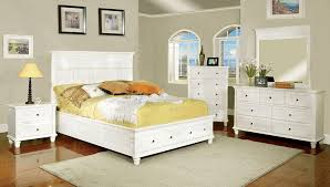 cal king willow creek i white cottage style bed 2 drawers