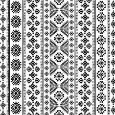 ornaments pattern white with black vector 01 welovesolo