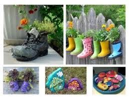 Upcycled Garden Decor 20 Best Idees Met Bande Images On Pinterest Creative Art