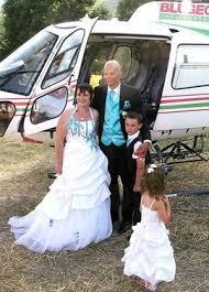 mariage original mariage original blugeon hélicoptère