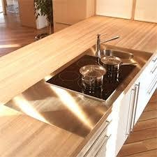 plan travail cuisine bois cuisine plan travail bois massif idée de modèle de cuisine