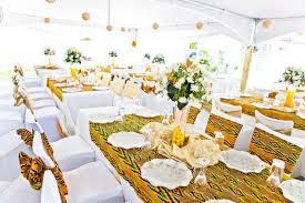 mariage deco inspiration mariage décoration pagnifik avec du pagne kita