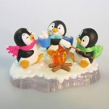 2011 friends of a feather penguins hallmark ornament keepsake