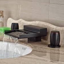 Centerset Waterfall Faucet Online Get Cheap Centerset Waterfall Faucet Aliexpress Com