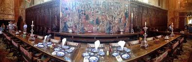 SEAN TINER Hearst Castle - Hearst castle dining room
