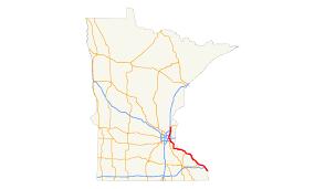 Minnesota United States Map by U S Route 61 In Minnesota Wikipedia