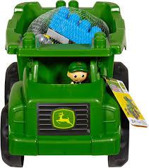 mega bloks john deere dump truck construction set toys