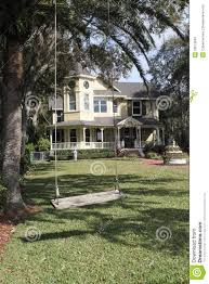 Lawn Swing Front Yard Swing Stock Photos Image 28519583