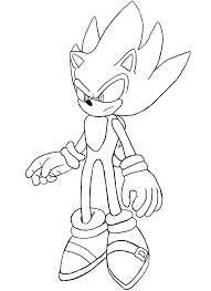 dark sonic coloring pages businesswebsitestarter com