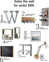 Barn Partnership 8 Ways To Spruce Up Your Wall Pottery Barn