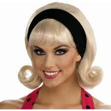 1950s headband 50s flip headband wig walmart