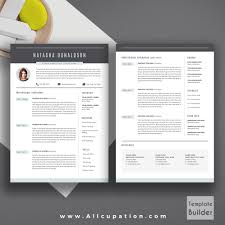 Word For Mac Resume Template Professional Resume Template Creative Cv Template Cover Letter