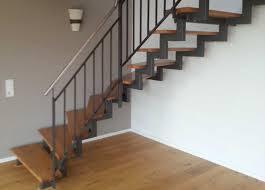 stahl holz treppe stahlbau schlosserei und schmiede leippert in engstingen