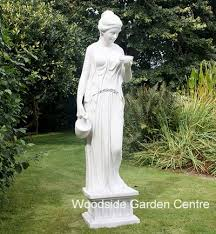enigma hebe large marble resin statue woodside garden centre