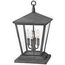 outdoor pier mount lights hinkley post light outdoor lighting ls plus