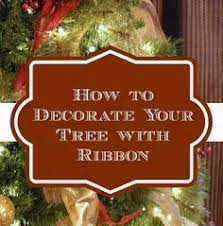the 25 best christmas tree ribbon ideas on pinterest christmas