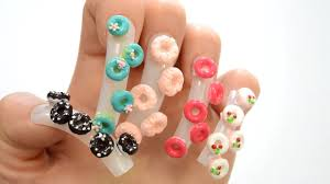 learn colors surprise donut nail arts top compilation learn count