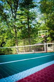 Backyard Basketball Court Naturescape Landscape Backyard Basketball Courts And Sport
