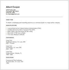 Resume For Airline Job by Pilot Resume Review Services That Specialize In Developing