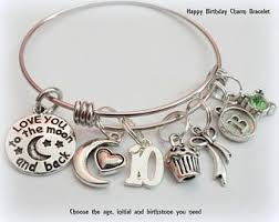 charm bracelet charm bracelet etsy