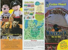 Cedar Fair Parks Map Is The Cedar Point Logo Changing Pointbuzz