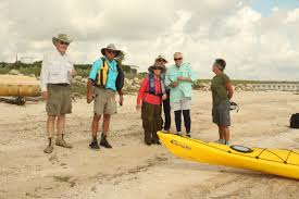 Robin Henry Paddle Powderhorn Ranch Shoreline 2015 San Antonio Bay Partnership