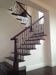 Wood Handrail Kits Stairs Astonishing Wrought Iron Railing Wrought Iron Step Railing