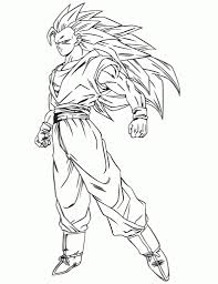 dbz color dragon ball z coloring pages 030 projects to try