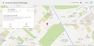 android device tracker android device manager now live helps you track a lost device