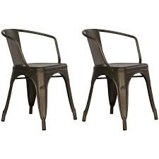 Dining Chairs Dorel Home Products Elise Metal Dining Chair Set Of 2 Multiple