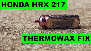 honda hrx217 type honda hrx217 thermowax choke actuator replacement