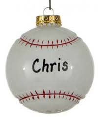 lessons learned in baseball ornament