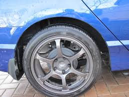 2009 honda civic tire size 17x7 5 wheels