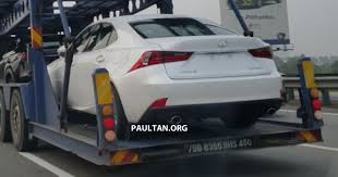 lexus is250 f sport for sale malaysia spyshots lexus is 200t ahead of malaysian launch