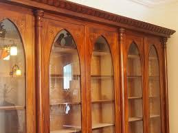 Custom Bookcase A Stunning Gothic Styled Bookcase Hand Made In Honduras Mahogany