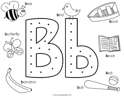 b is for ball coloring page latest letter b coloring pages