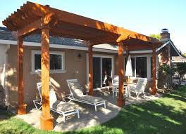 pergola over backyard patio in willow glen san jose u2013 creative