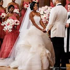 south africa luxury wedding dresses 2017 plus size puffy beads
