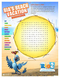 Make Own Word Search Rio 2 Downloadable Activity Sheets And Outdoor Ideas Make Summer