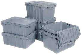 attached lid containers and storage totes by akro mils
