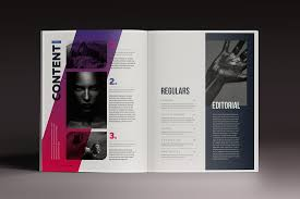 15 indesign magazine u0026 brochure templates daily ui design