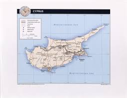 map of cyprus cyprus maps perry castañeda map collection ut library