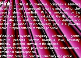 pink meaning pink color psychology