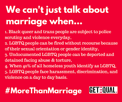 marriage social justice for all