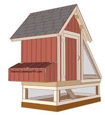 chicken coop plans design 1 construct101
