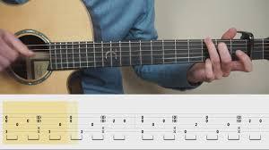 video tutorial belajar gitar klasik ed sheeran perfect fingerstyle guitar tabs tutorial lesson
